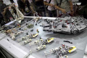 Lego of Star Wars Rebel Hanger