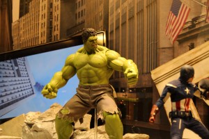 Figure of the Incredible Hulk from the Movie Avengers