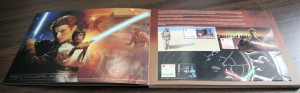 Light Side Page showing Anakin Skywalker and Luke Skywalker