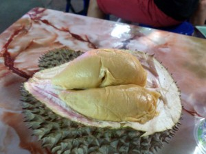 Red Prawn Durian, so far the best I ever tasted.