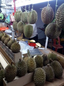 A road side Durian Store