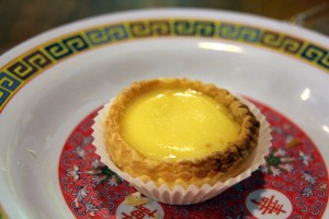 Egg Tart - freshly out of the oven.